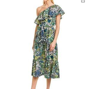 NWT A.L.C. Janelle one shoulder dress